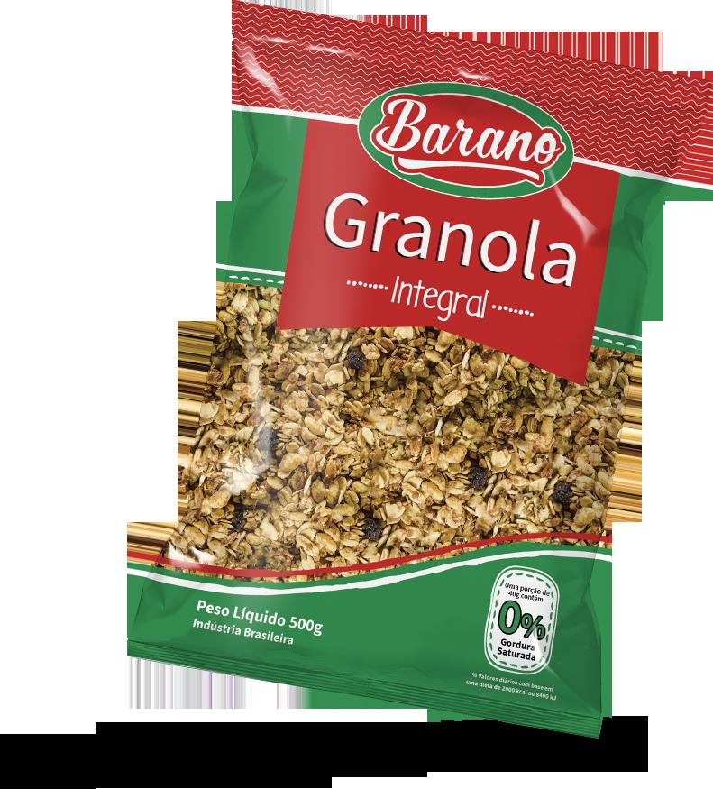 Granola Integral 500g Barano