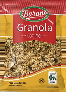 granola integral mel 500g_Barano