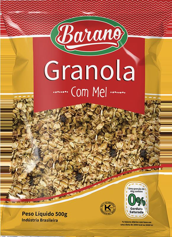 granola integral mel 500g_Produto